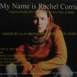 My Name is Rachel Corrie 1-sheet