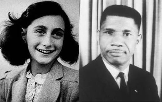 Anne Frank and Medgar Evers